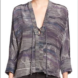 IRO Almie silk blouse